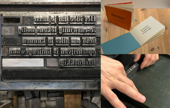 4-daagse workshop: Poëziebundel in letterpress